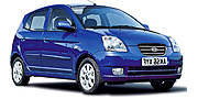 Chevrolet Aveo Sedan Automatic to Rent with Comfort Car Hire
